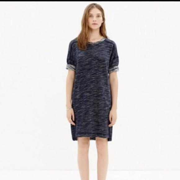 Madewell Dresses & Skirts - Madewell Textured Sweatshirt Dress